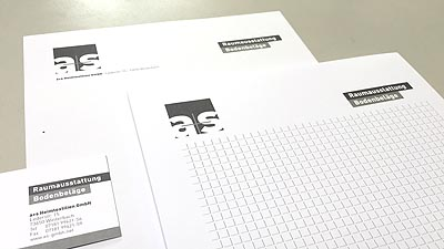 Das AS in der Hand: Neues Corporate Design für »a+s Heimtextilien GmbH«