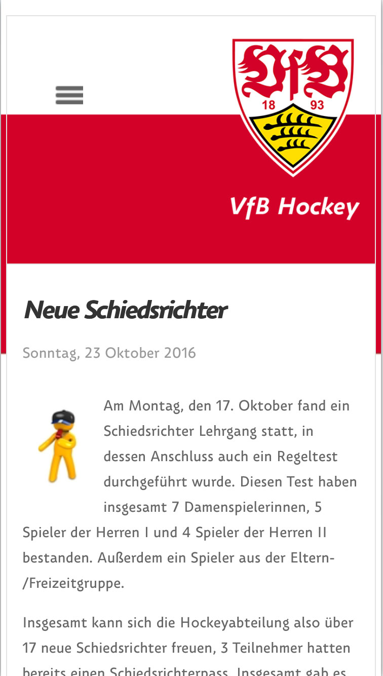 vfbhockey mobile